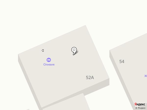 Оливия на карте Анапы