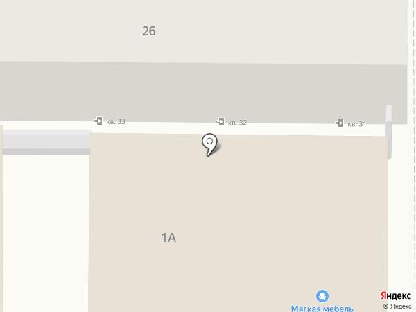 Домострой на карте Анапы