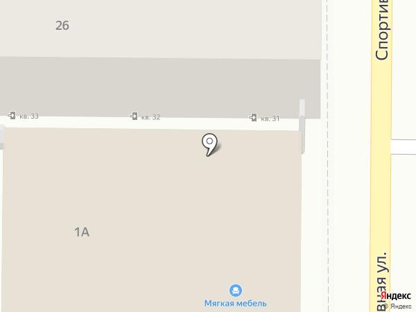 Центр проката на карте Анапы