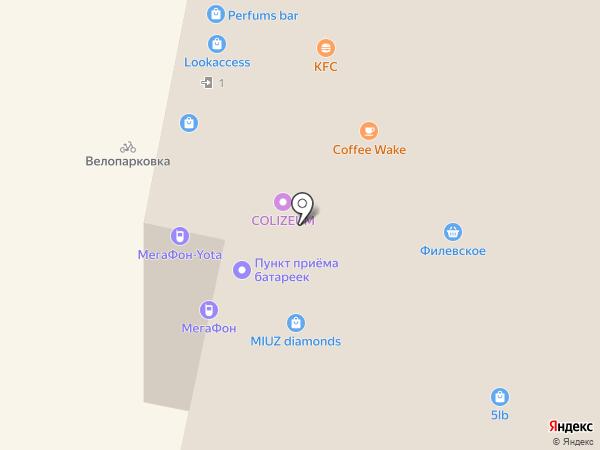 Московский Ювелирный Завод на карте Красногорска