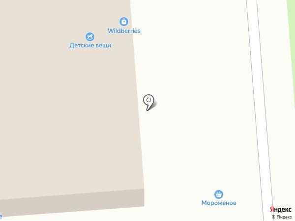 Магазин женской одежды и головных уборов на карте Москвы