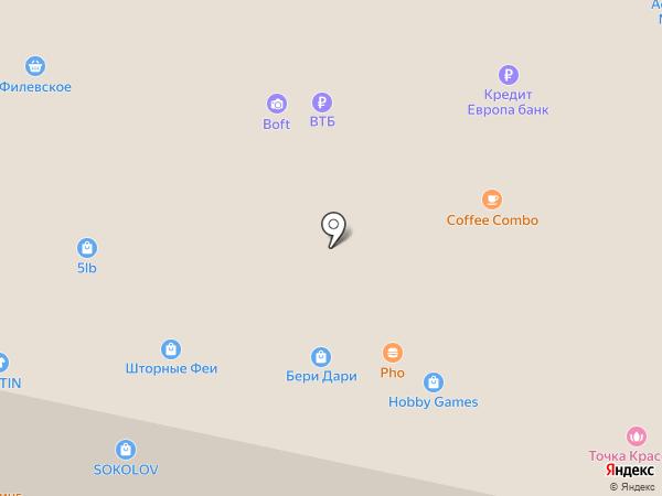 Облик на карте Красногорска
