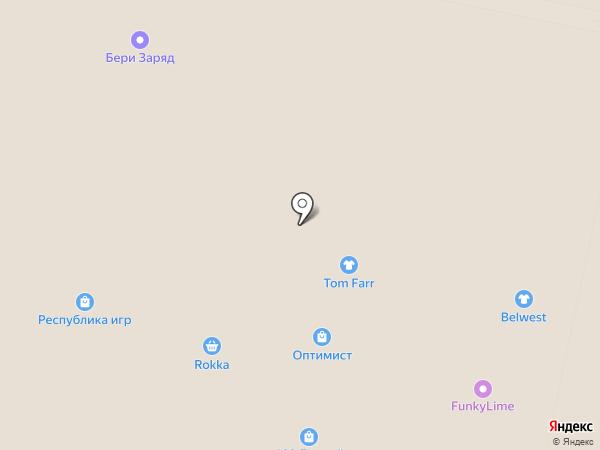 Медведково на карте Красногорска