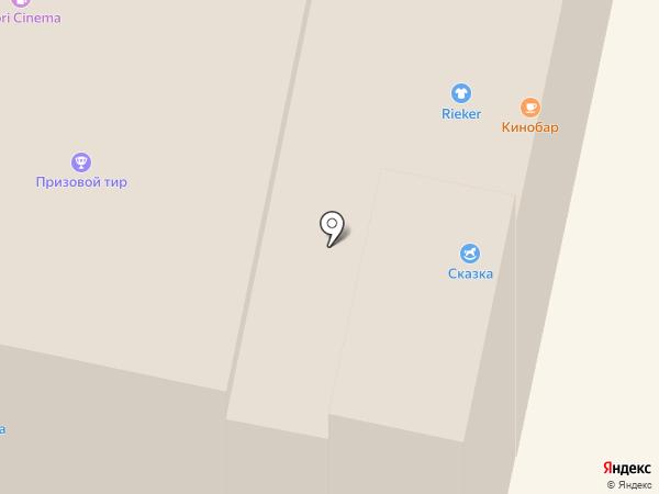 Алеф на карте Красногорска