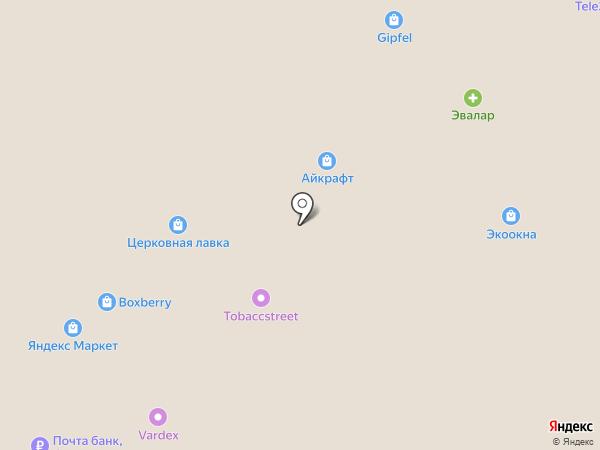 АЙКРАФТ на карте Московского