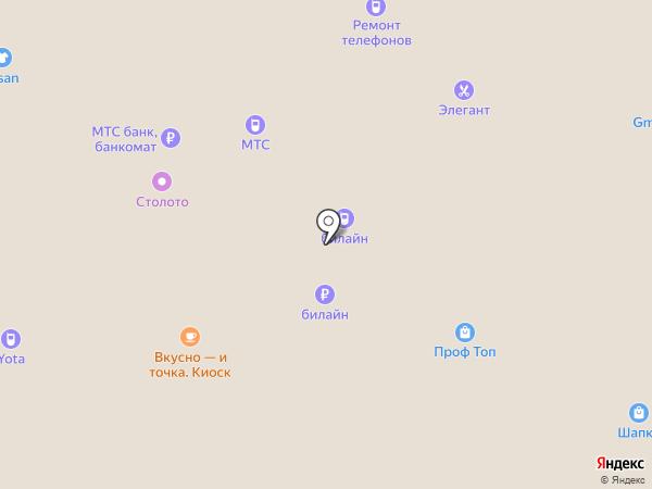MiniLand на карте Московского