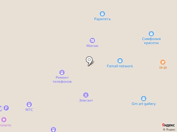 Сервисный центр на карте Московского