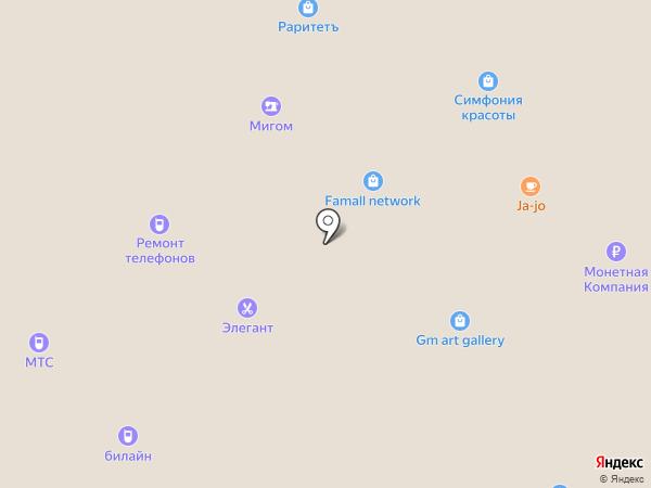 Baby Collection на карте Московского