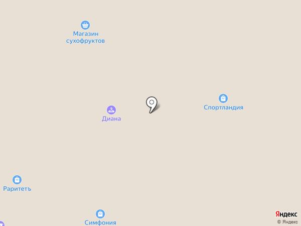 Диана на карте Московского