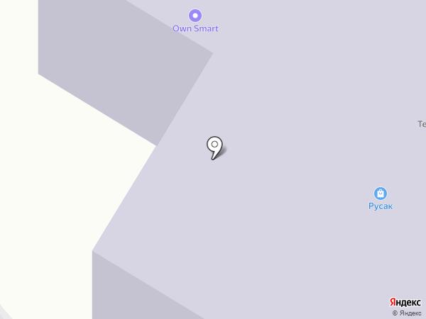 Русак на карте Красногорска