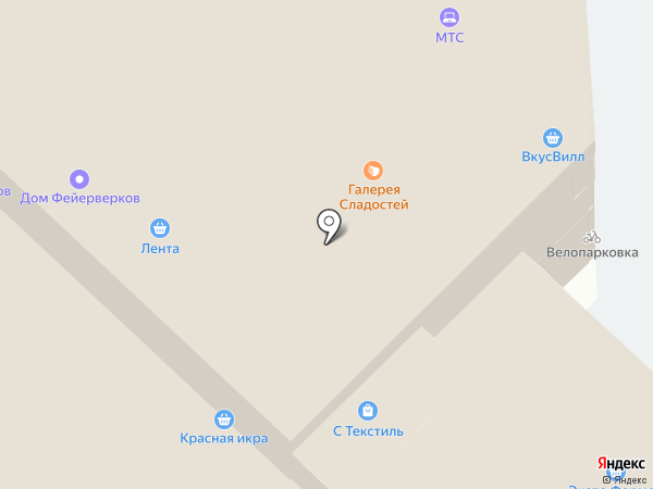 Unistream на карте Москвы