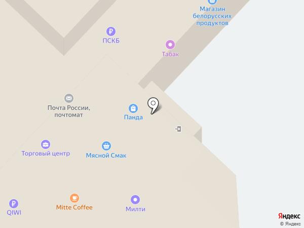 Магазин сувениров на карте Москвы