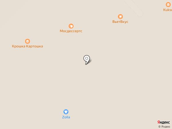 Роллердром на карте Московского