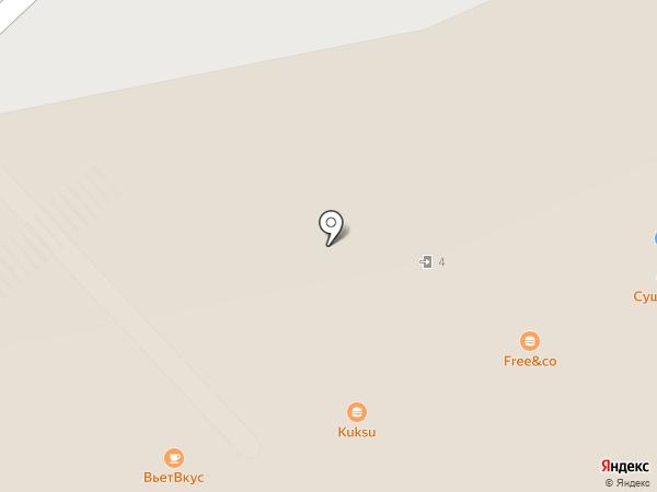Kuksu House на карте Московского