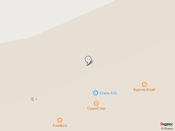 Sushi Club на карте Московского