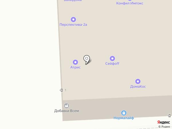 СКМ-ДВЕРИ на карте Москвы
