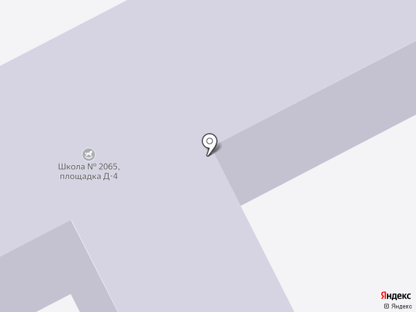Детский сад №1096 на карте Москвы