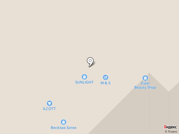 Choupette на карте Московского