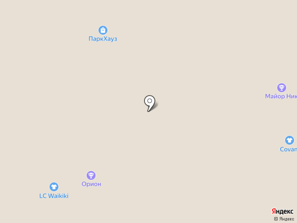 Орион на карте Московского