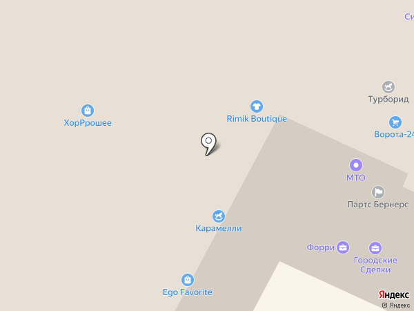 eGo Favorite на карте Московского