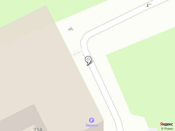 Городской центр жилищных субсидий на карте Московского