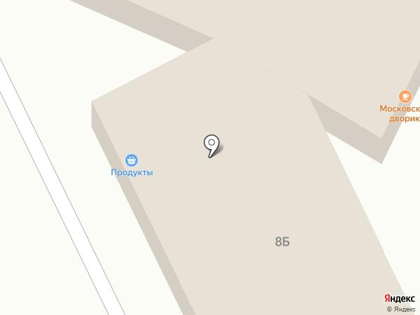 Кредит Пилот на карте Московского