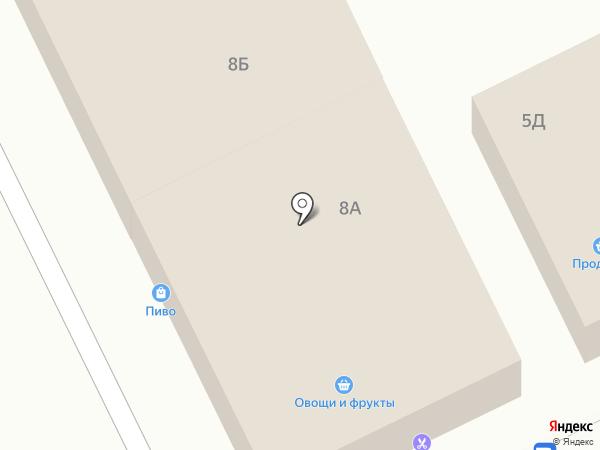 Магазин разливных напитков на карте Московского