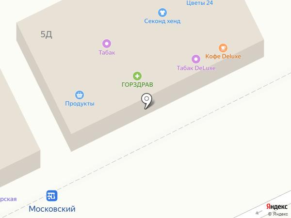Салон цветов на карте Московского