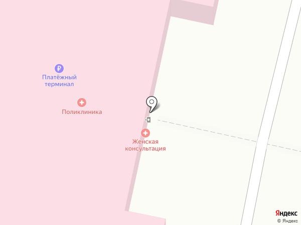 Взрослая поликлиника на карте Москвы