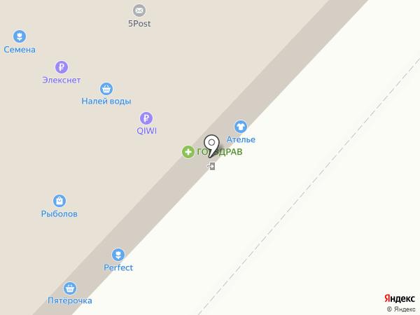 Людмила на карте Москвы