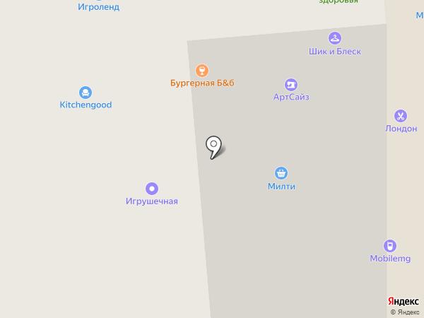AutoSpa на карте Красногорска
