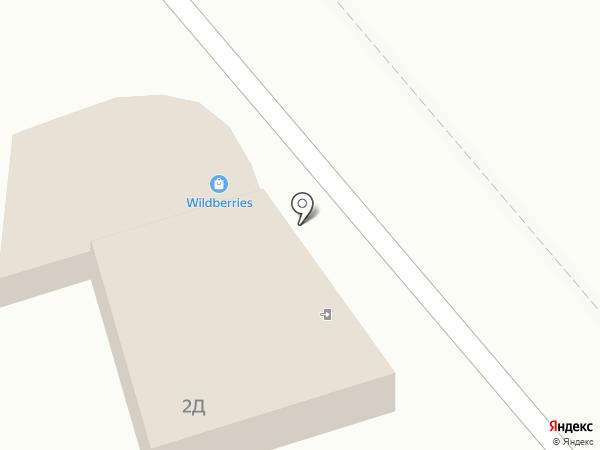 Автокомплекс на карте Анапы