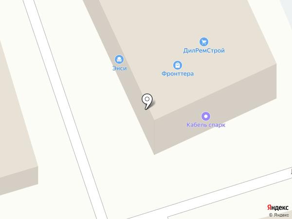 Висалон на карте Москвы