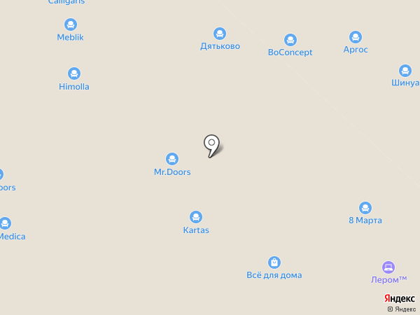 Rival на карте Новоивановского
