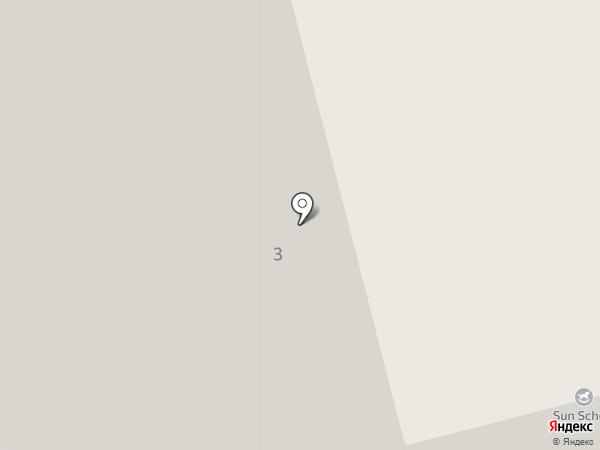 Молодежный-3 на карте Красногорска