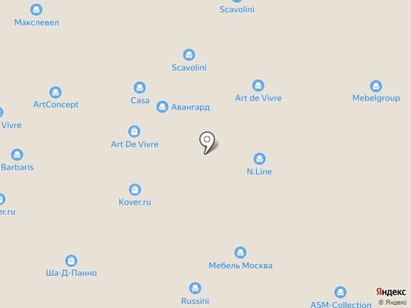 Авуар на карте Новоивановского