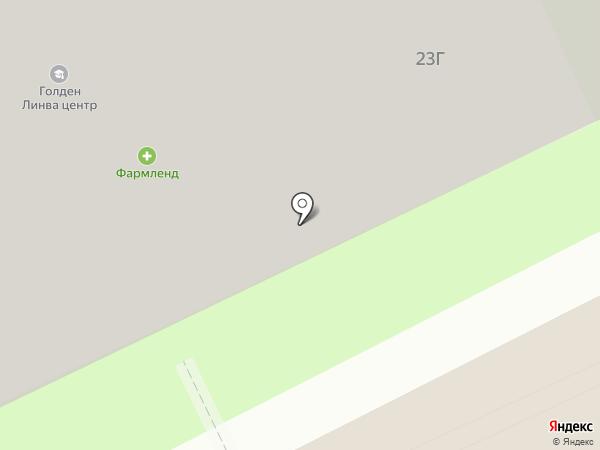 Фарм Инвест на карте Московского