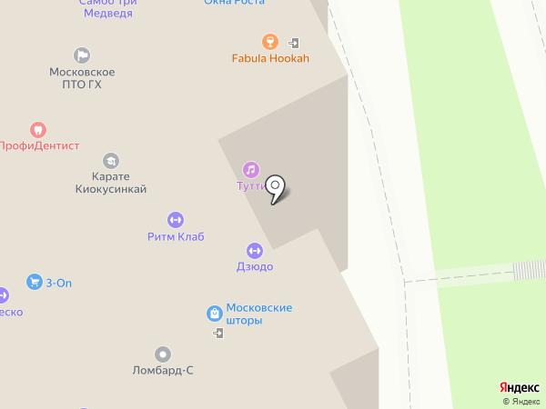 Fabula на карте Московского
