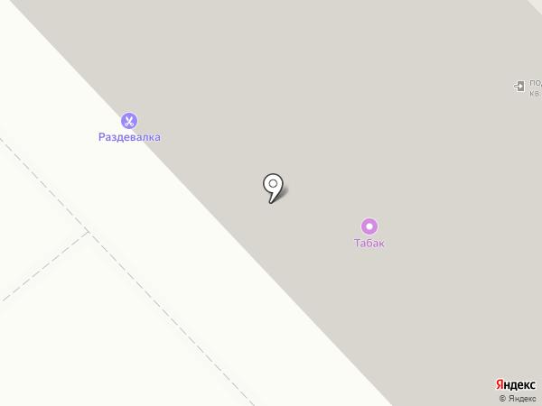 Магазин штор на карте Москвы