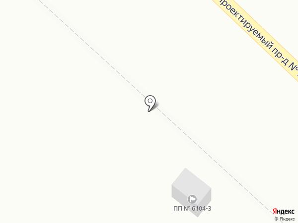 Московский, ЗАО на карте Московского