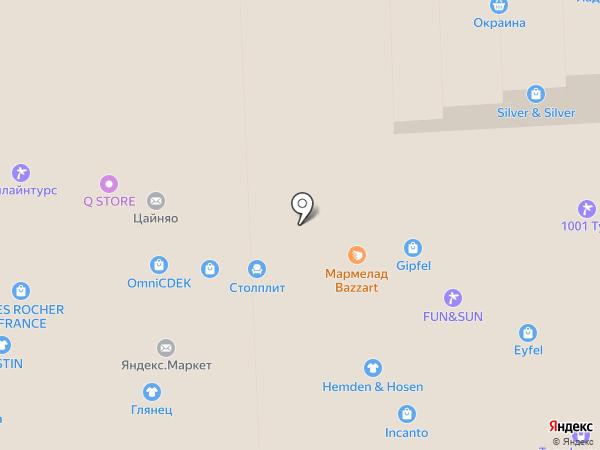 Магазин новогодних елок на карте Москвы