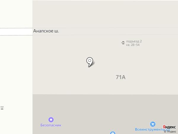 Пожарные системы на карте Анапы