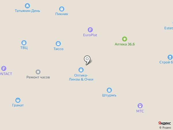 Ваше Золото на карте Новоивановского
