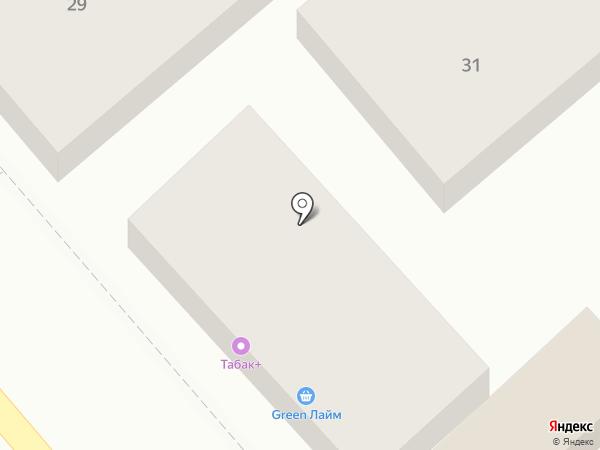 Аделия на карте Анапы