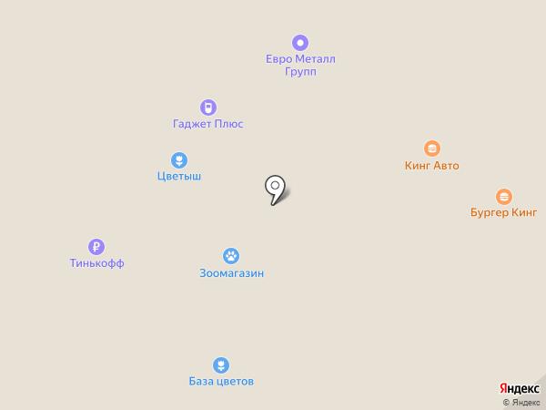 Лабиринт на карте Новоивановского