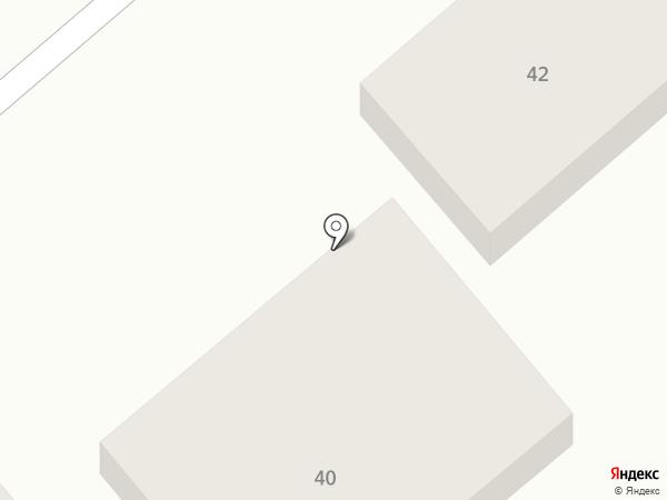 Антрэ на карте Анапы