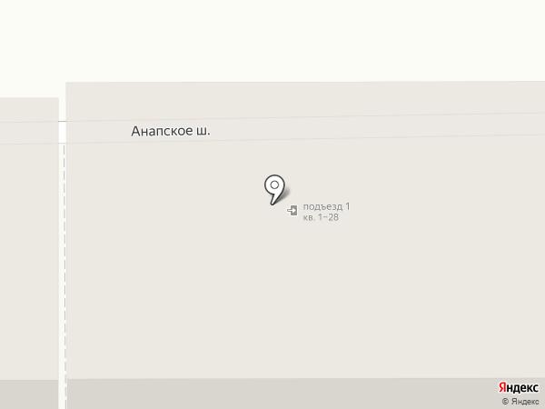 Магазин игрушек на карте Анапы