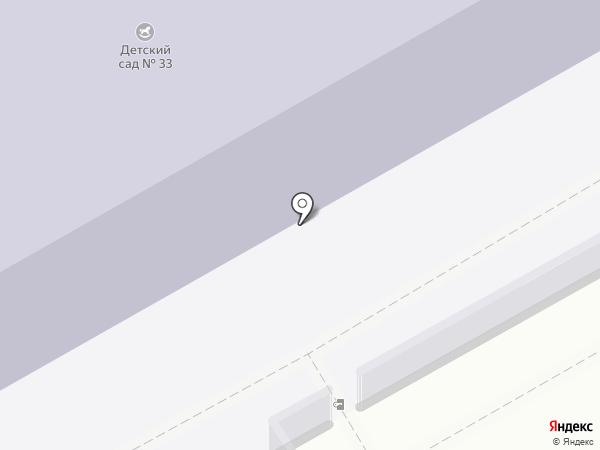 Детский сад №33 на карте Новоивановского