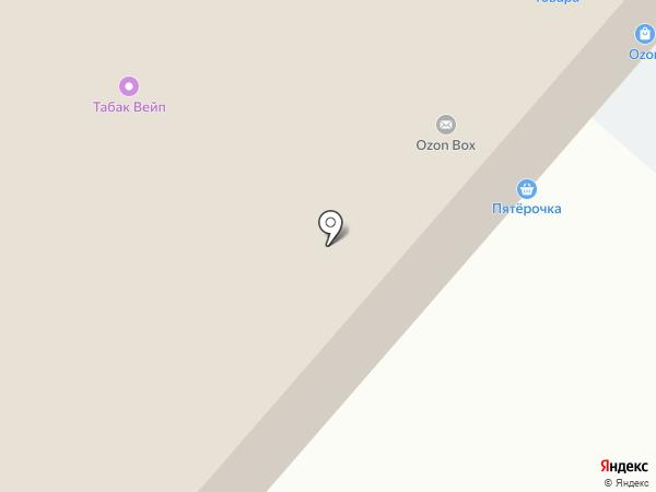 Магазин разливных напитков на карте Москвы