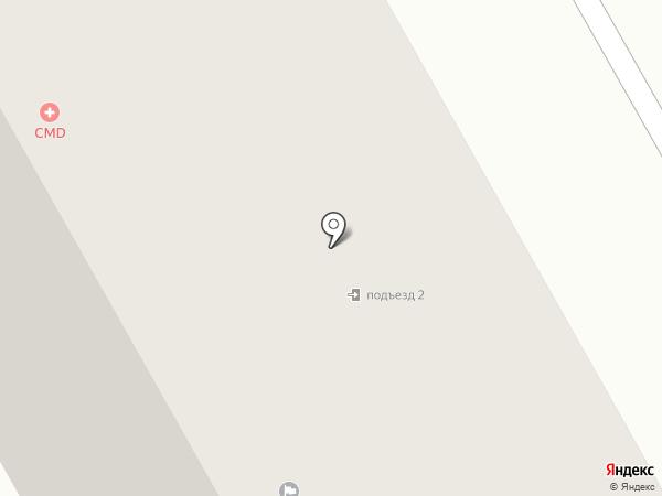 Немчиновская амбулатория на карте Новоивановского